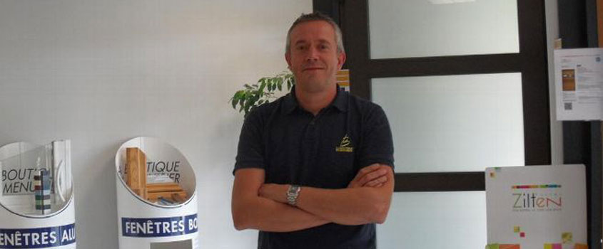 Menuiserie LACASSAGNE à AURILLAC - Il s'est formé au CFA de Massiac pour reprendre La boutique du menuisier à Aurillac