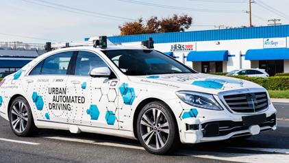 Bosch et Mercedes-Benz lancent un projet commun de transport individuel autonome à San José