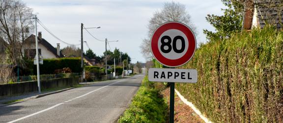 Limitation de vitesse à 80 ou 90 km/h : ce que dit la loi mobilités