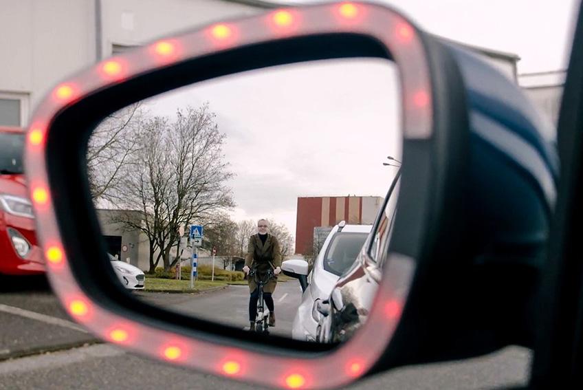 Aurillac Auto Expertise - Aurillac - Exit Warning : la technologie Ford qui entend protéger les cyclistes des ouvertures intempestives de portières