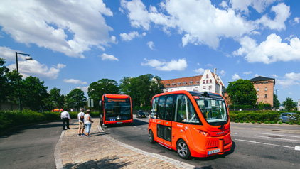NAVYA déploie ses AUTONOM® SHUTTLES sur route ouverte : une première au Danemark
