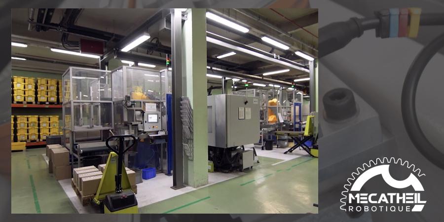 MECATHEIL - Mécanique de précision et systèmes automatisés - Découvrez la vidéo d'une machine spéciale conçue par MecaTheil !