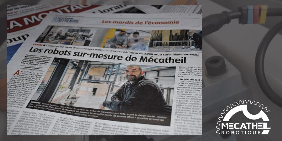 MECATHEIL - Mécanique de précision et systèmes automatisés - MecaTheil dans la presse régionale