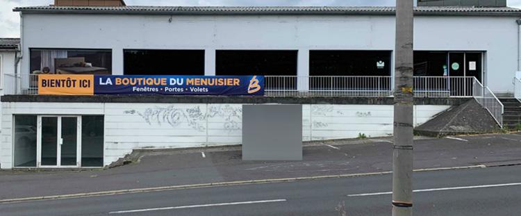 Menuiserie LACASSAGNE à AURILLAC - BANDEROLE