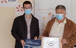 CANTAL'MOUV - Aurillac - EDF donne un coup de pouce solidaire à l'AFAPCA